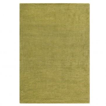 Wollteppich COLOR olivgrün