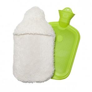 Prolana Wärmflasche mit Plüschbezug